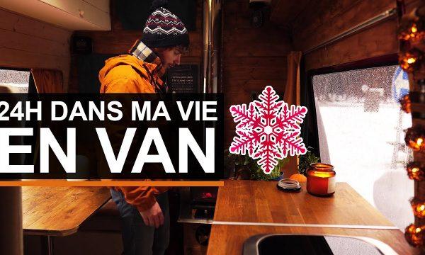 Vivre dans un van en hiver : il nous partage son quotidien en vidéo