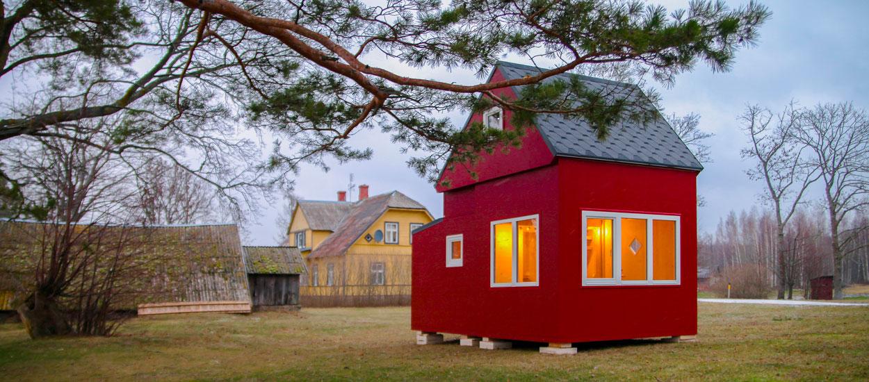 Ces tiny houses dépliables se montent en tout juste trois heures