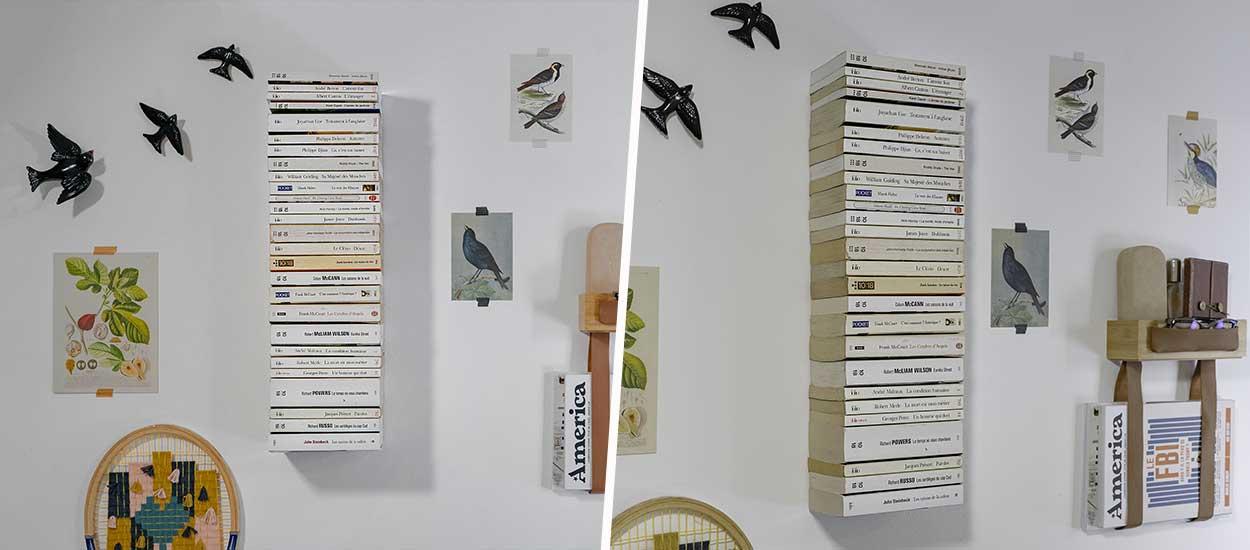 Tuto : Fabriquez une bibliothèque invisible