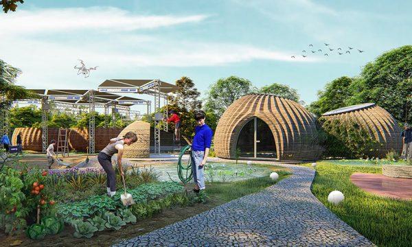 Voici la maison écolo du futur, imprimée en 3D... mais avec de la terre