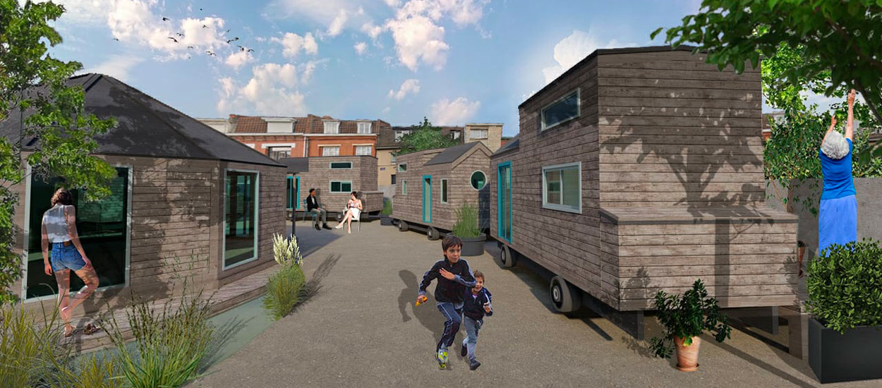 Cette asso lilloise construit un village de tiny houses solidaire pour y loger des personnes démunies