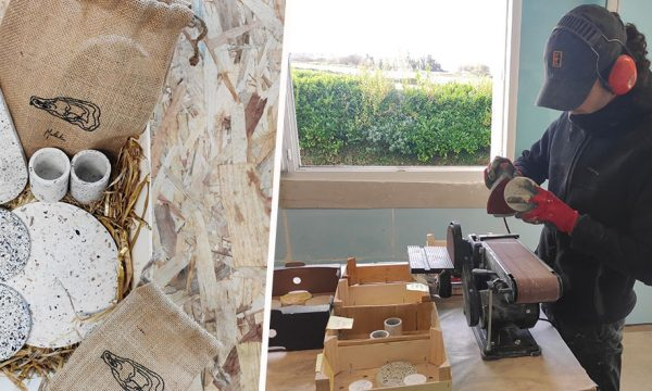 Zéro déchet : cette jeune entreprise bretonne fabrique des objets déco à partir de coquillages recyclés