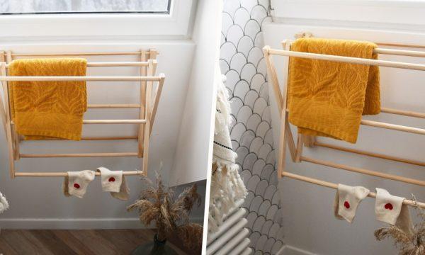 Tuto : Réalisez un joli porte-serviettes mural en bois
