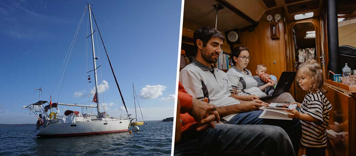 Ils ont vendu leur maison pour faire le tour des côtes françaises en bateau
