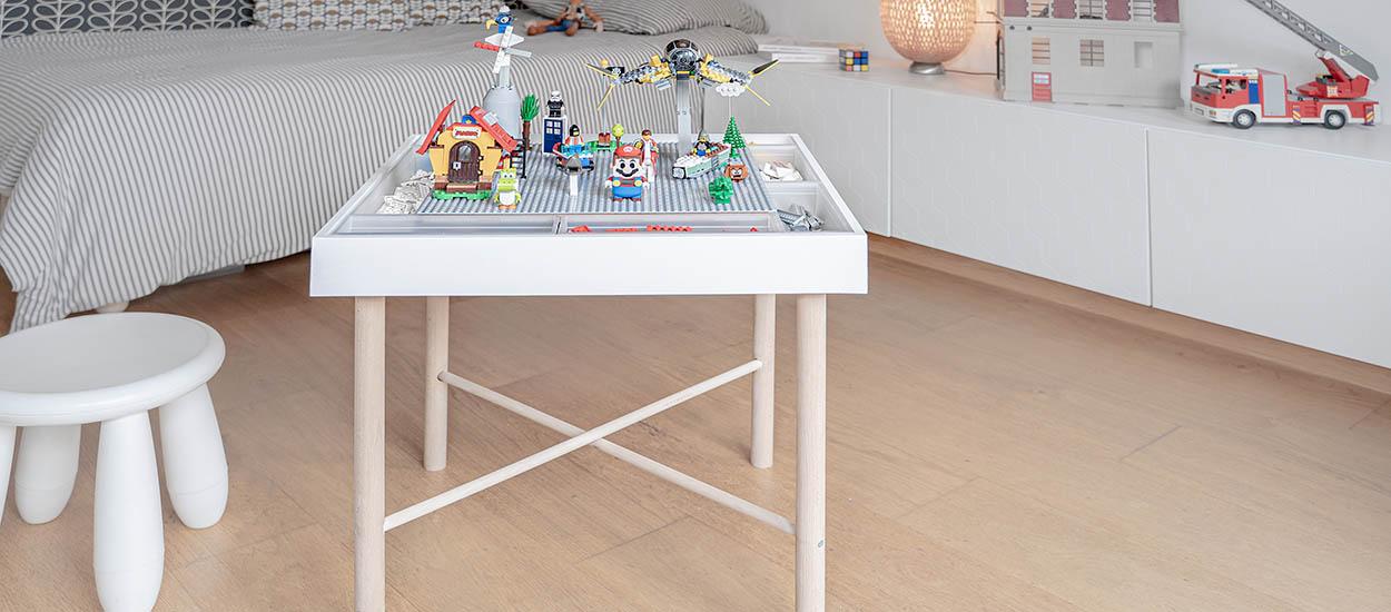 Tuto : fabriquez une table d'activité pour jouer aux  LEGO
