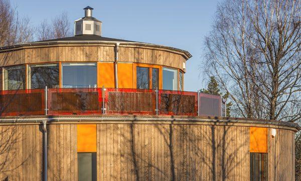 La villa Circuitus : la première maison passive entièrement circulaire