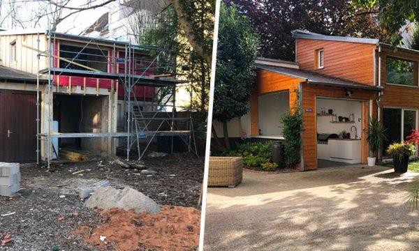 Avant / Après : Cette dépendance en ruine a été transformée en beau duplex