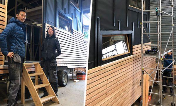 Ils construisent leur tiny house en 6 mois : visitez le chantier en vidéo