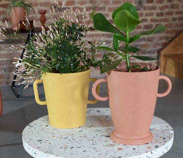 Tuto : Customisez des cache-pots en imitant la terre cuite
