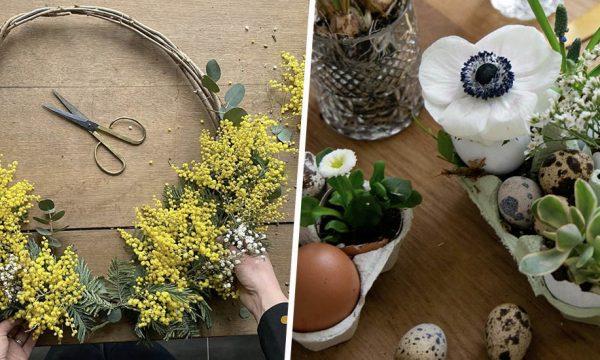 5 mini-tutos express pour une jolie déco de Pâques