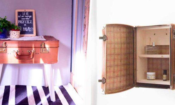 7 idées DIY pour donner une nouvelle vie à une valise vintage