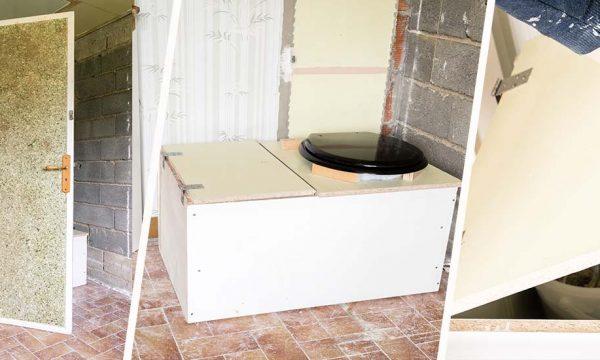Tuto : Fabriquez des toilettes sèches récup' (pratique pour votre chantier !)
