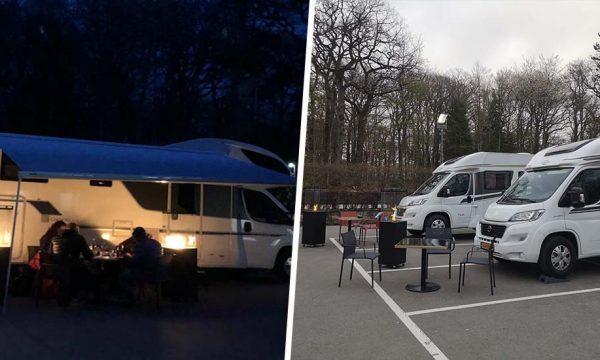 Pour s'adapter aux mesures sanitaires, ce restaurant ouvre son parking et propose de dîner dans votre camping-car