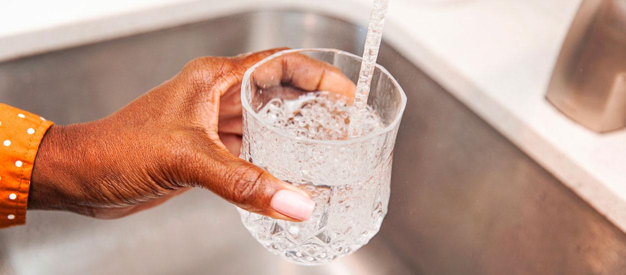Cette carte interactive vous informe sur la qualité de l'eau du robinet de votre commune