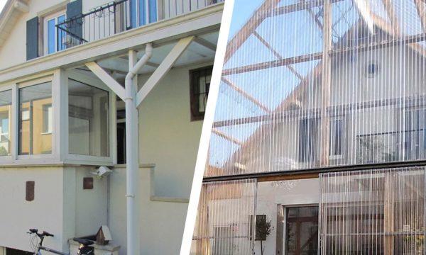 Avant / Après : Une véranda jardin d'hiver et une maison qui retrouve la lumière
