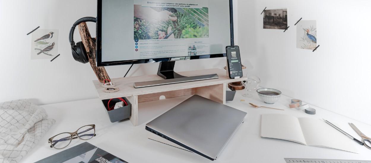 Tuto : Fabriquez une station de télétravail ergonomique pour 40 euros seulement