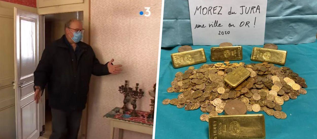 Dans une maison du Jura, deux trésors découverts à un an d'intervalle