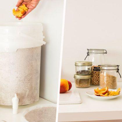 Tuto : Réalisez facilement un Bokashi, un mini composteur de cuisine, en une heure à peine