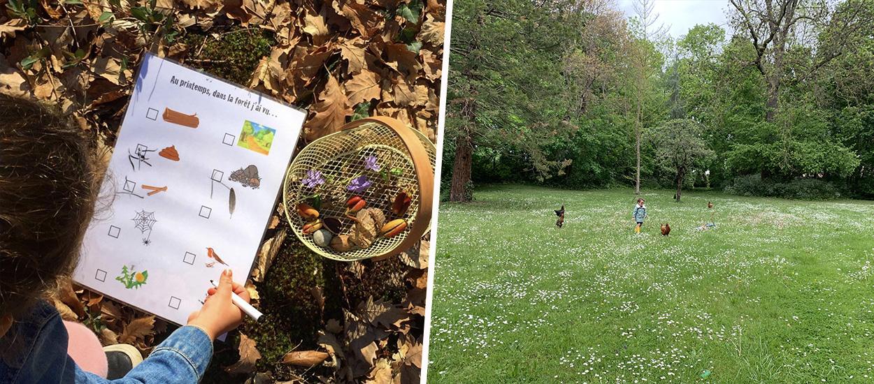 Des chasses aux trésors de printemps gratuites pour éveiller les enfants à la nature