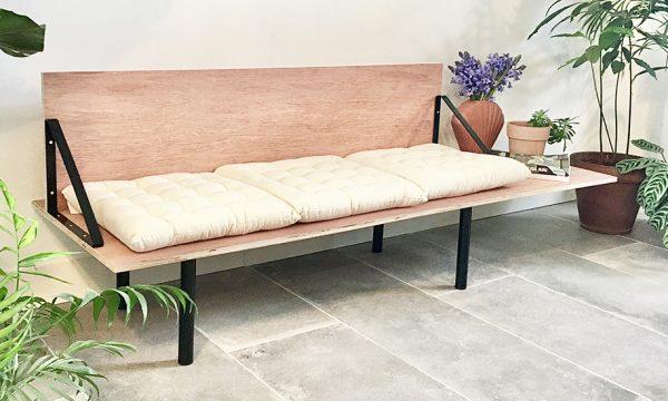 Tuto : Fabriquez facilement une banquette design en bois