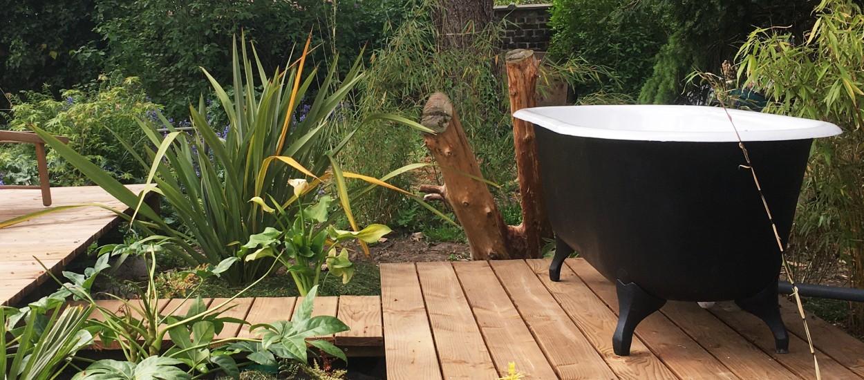 7 idées pour réutiliser une vieille baignoire dans sa déco ou au jardin