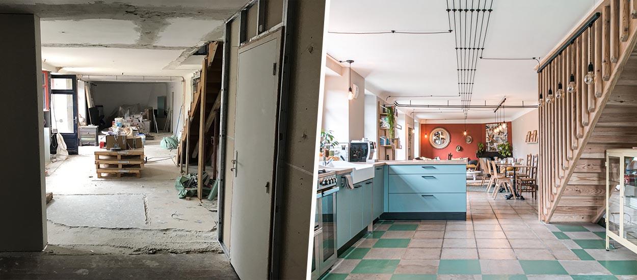 Avant / Après : Ils ont rénové des vieilles chambres d'hôtes en un lieu apaisant et slow life