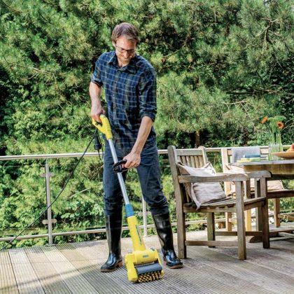 Un appareil éco-responsable 6 en 1 pour entretenir votre extérieur et votre terrasse