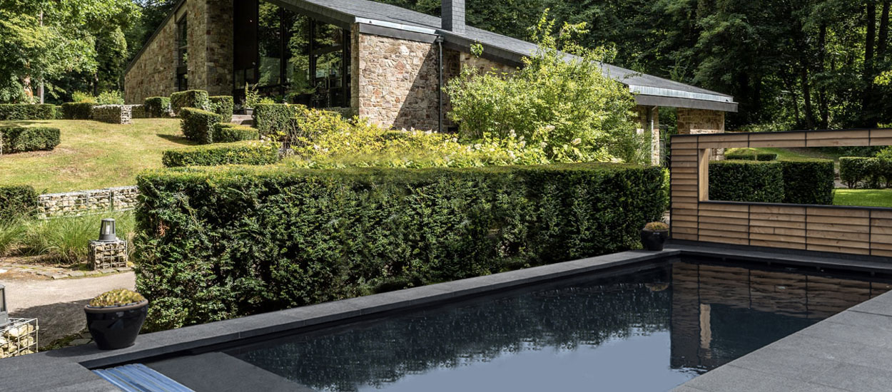 Ce panneau solaire en ardoise chauffe votre piscine naturellement sans électricité
