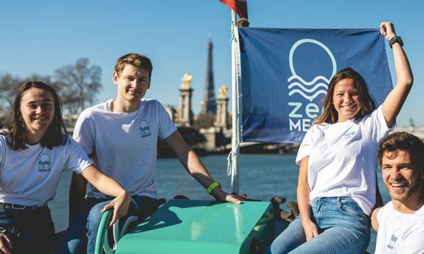 Ces amis organisent un record du monde de collecte de mégots (et vont descendre la Seine à la nage)