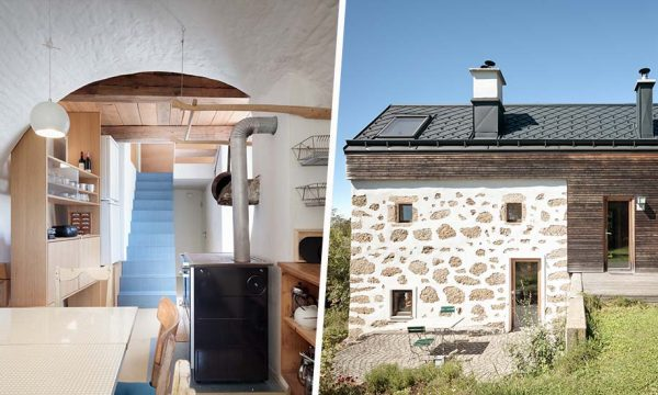 Cette ancienne boulangerie vieille de 250 ans a été rénovée en maison chaleureuse