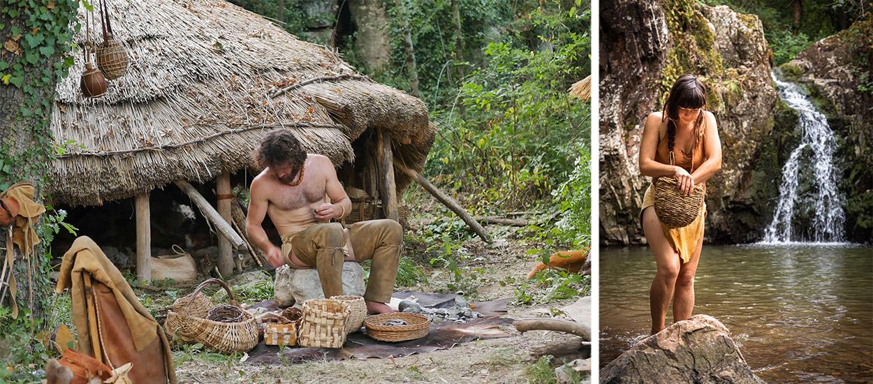 Ces passionnés de Préhistoire veulent vivre en autonomie dans la forêt en Ariège