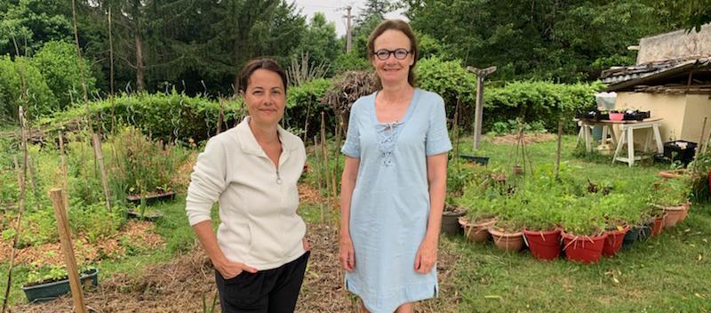 Elles sont devenues amies en partageant un jardin pendant 10 ans