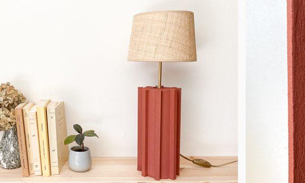 Tuto : Réalisez un pied de lampe tendance façon terre cuite