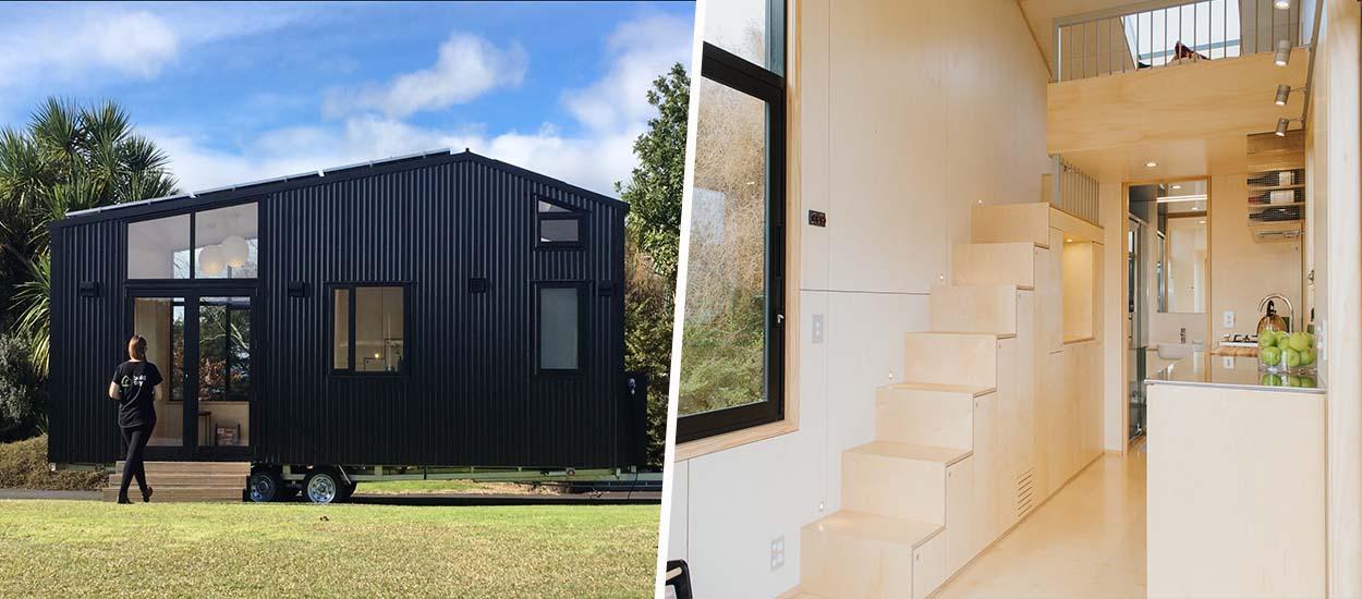 Découvrez cette tiny house design et lumineuse conçue par un cabinet d'architecte !
