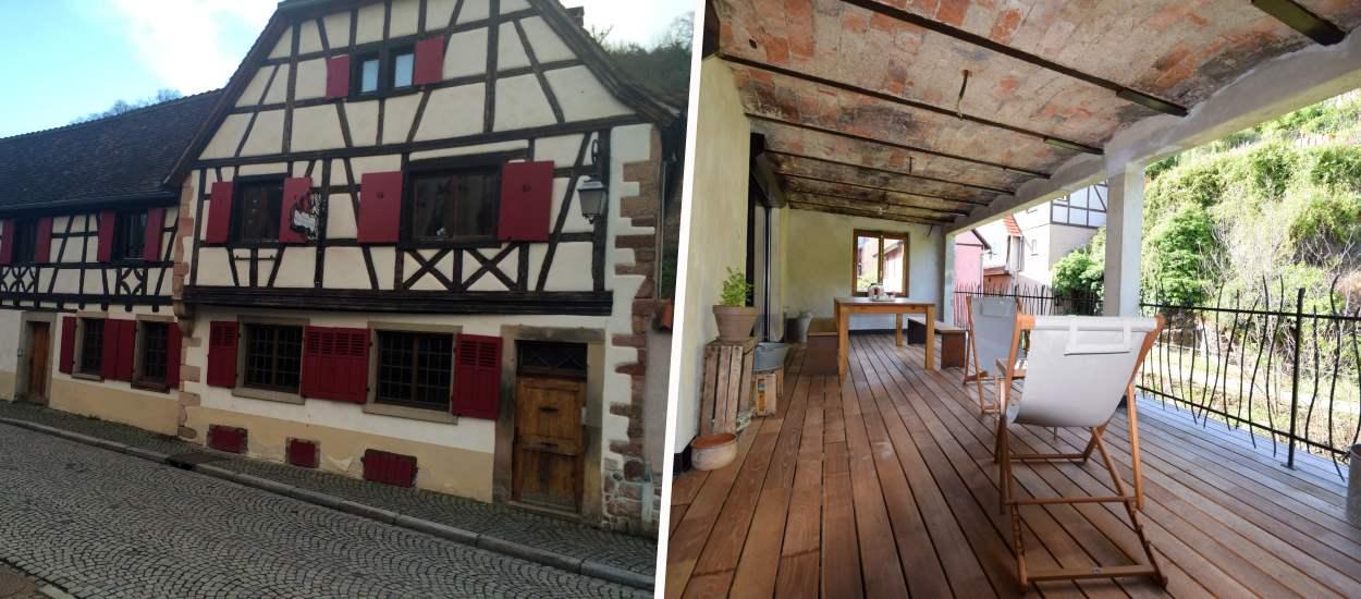 Avant / Après : Cette maison alsacienne, dans la famille depuis 13 générations, est encore plus belle qu'au 16e siècle