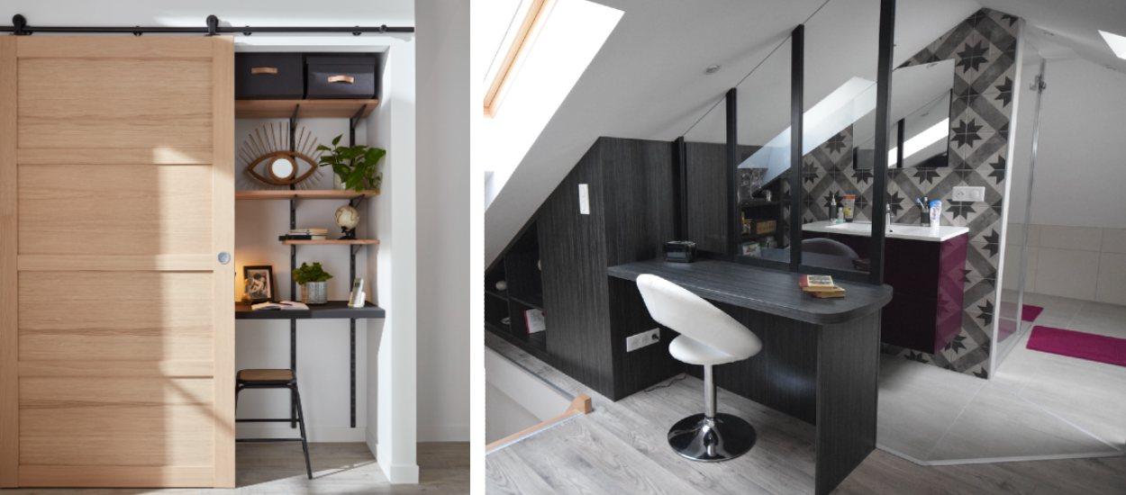 Pas de place pour un bureau chez vous ? 9 idées pour en aménager un quand même !