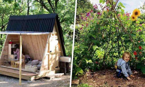 Les 6 plus belles cabanes pour enfants fabriquées par des parents créatifs