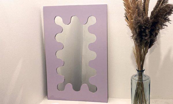 Tuto : Fabriquez un miroir curvy récup ultra tendance