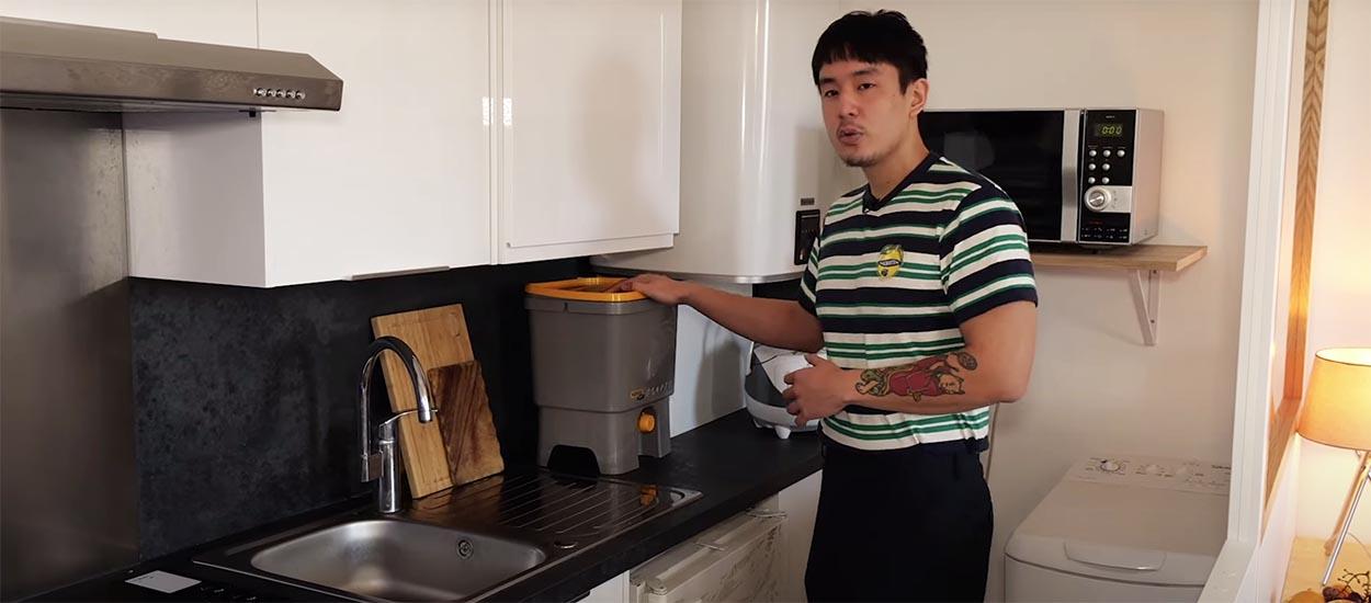 Yves a optimisé son appartement pour mieux travailler grâce à Need Help