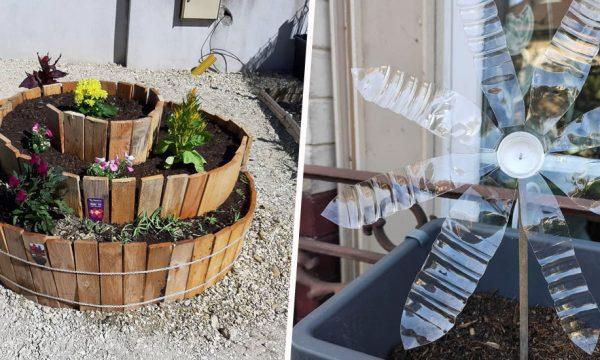 7 idées récup' pour décorer le jardin à petit budget