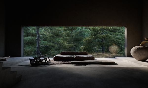 La future maison de Björk ressemble à une grotte primitive, conçue en harmonie avec la nature