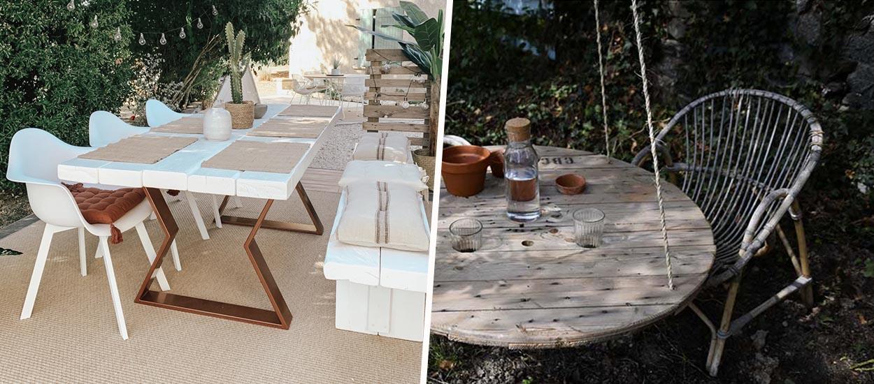 6 tutos pour fabriquer votre propre table d'extérieur en bois
