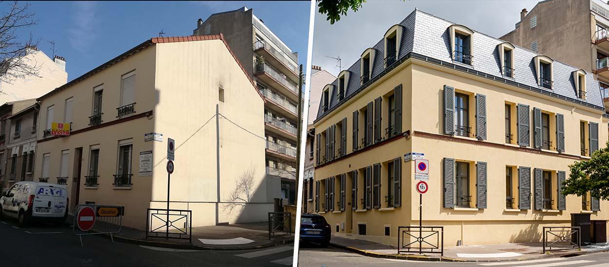 Avant / Après : Cet immeuble de quatre appartements a été transformé en maison familiale et chaleureuse