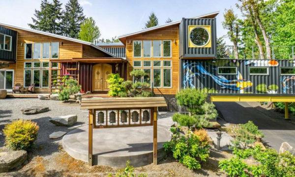 La maison en containers la plus chère (et la plus folle) du monde vient d'être mise en vente