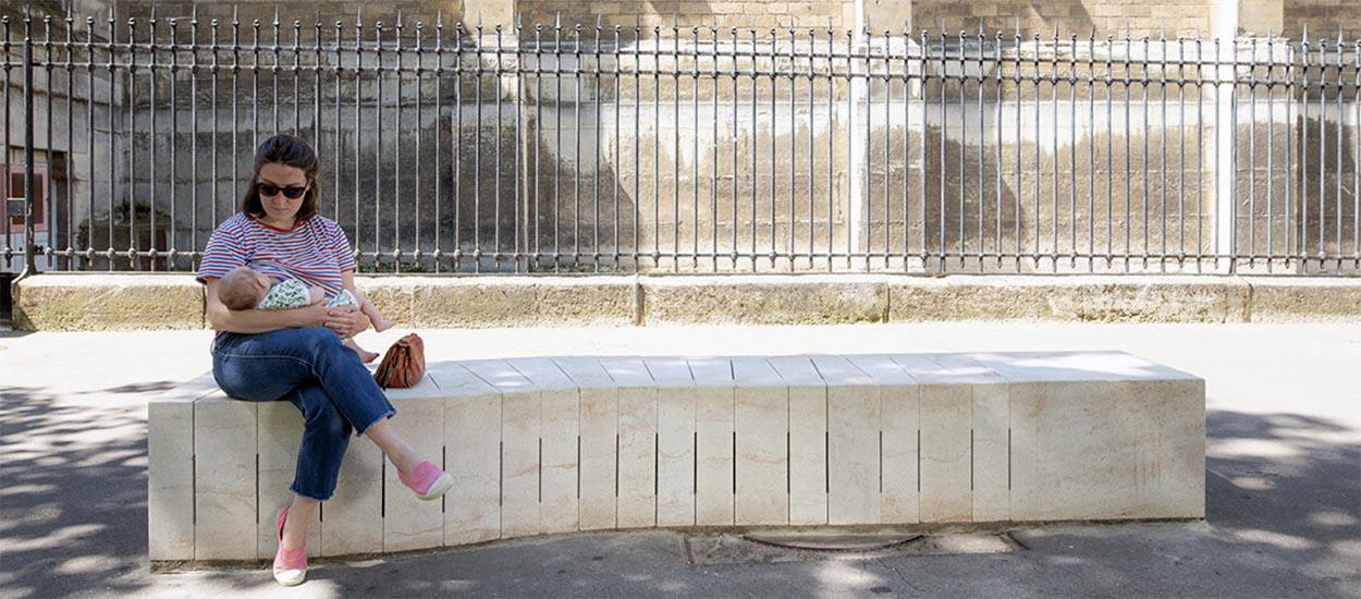 Ce banc en pierre rafraîchit l'air des villes en puisant l'air du sous-sol !