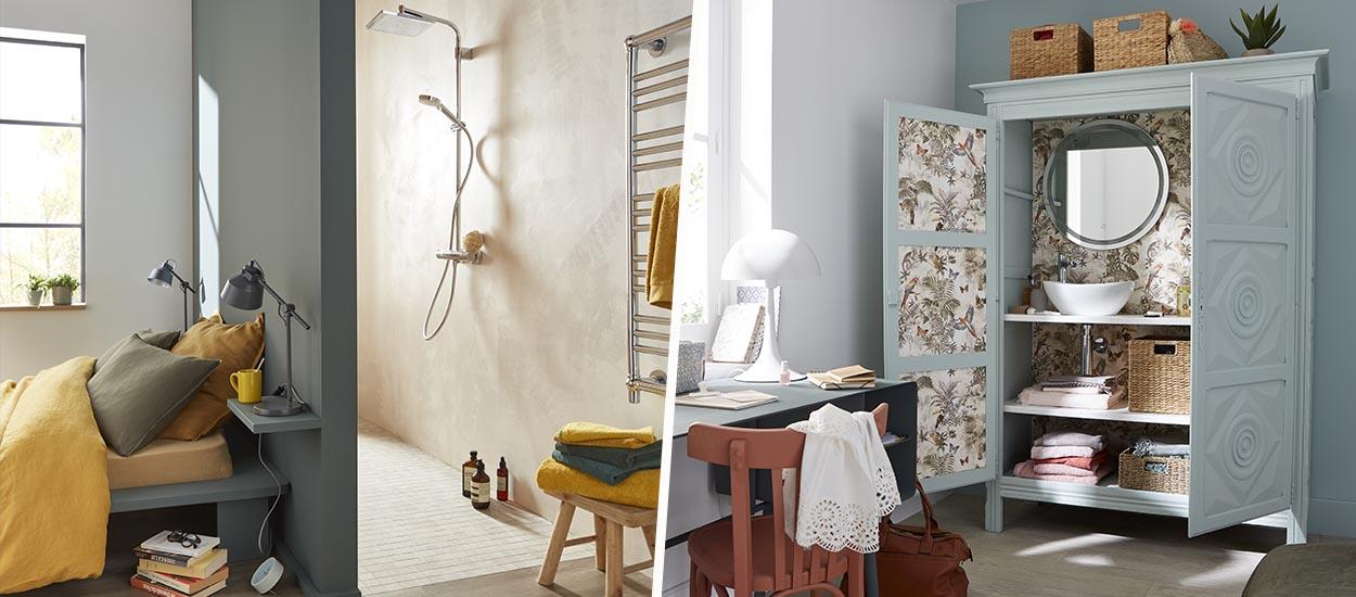 4 idées pour créer une petite salle de bains supplémentaire