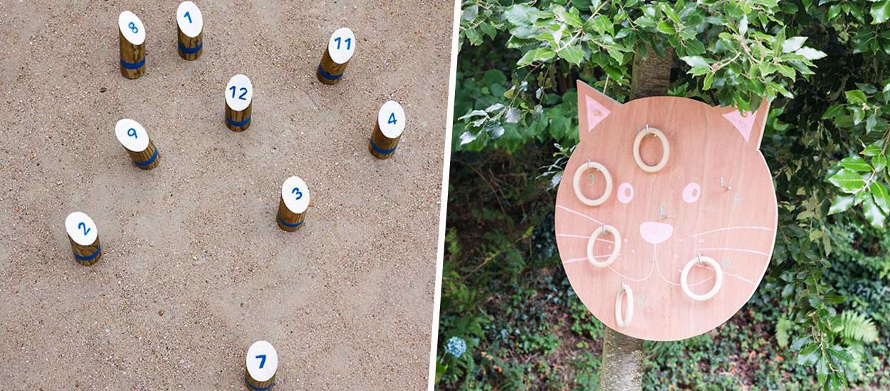 7 idées de jeux de kermesse à faire soi-même dans le jardin