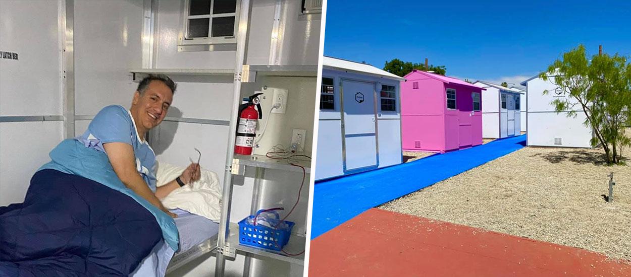 À Los Angeles, des tiny houses à 5500 euros qui se montent en 90 minutes pour les sans-abri