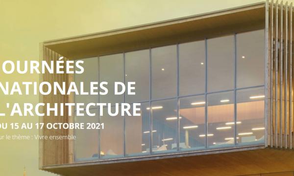 Les Journées nationales de l'architecture célèbrent le
