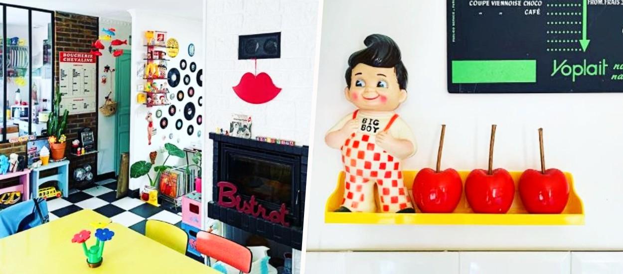 Laetitia collectionne les objets vintage :